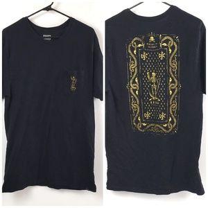 Krew men's Graphic T-shirt Skeleton size XL